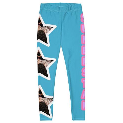 """Blue """"Superstar"""" Leggings"""