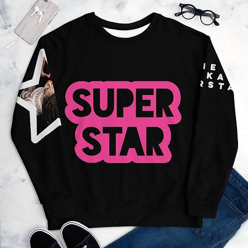 Black Superstar Unisex Sweatshirt