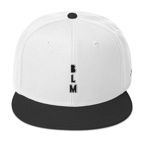 Vertical BLM Black Lives Matter Snapback Hat