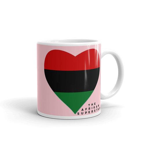 Pink Pan African Love Mug