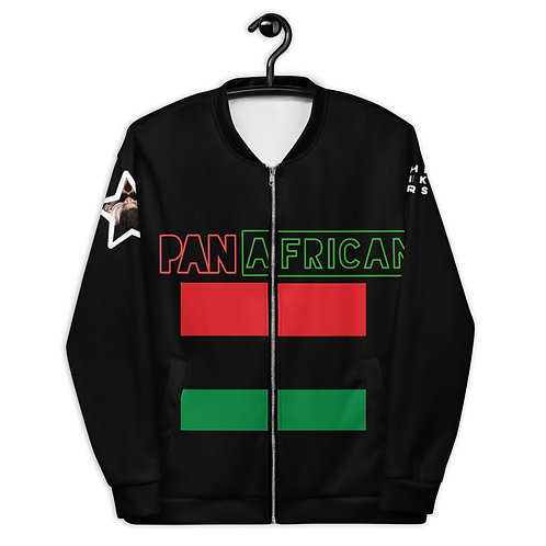 Black Proud Pan African Unisex Bomber Jacket