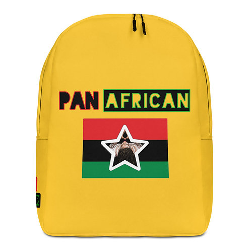 Yellow Proud Pan African Minimalist Backpack