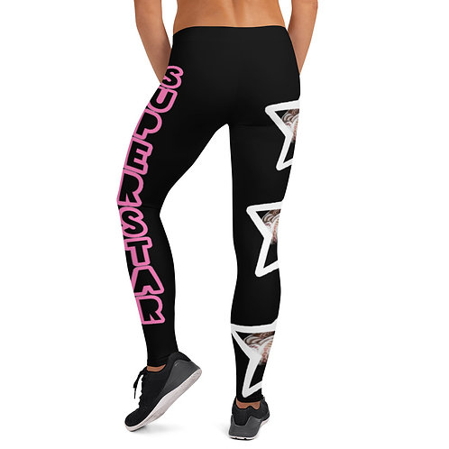 "Black ""Superstar"" Leggings"