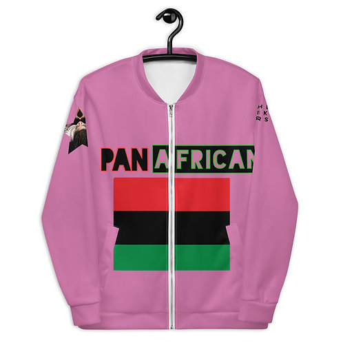 Light Pink Proud Pan African Unisex Bomber Jacket
