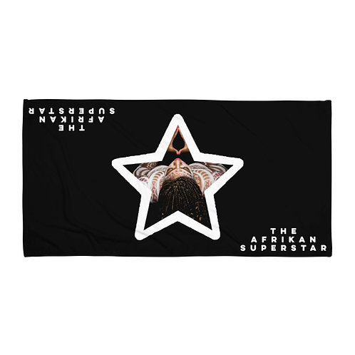 Black Star Logo Towel