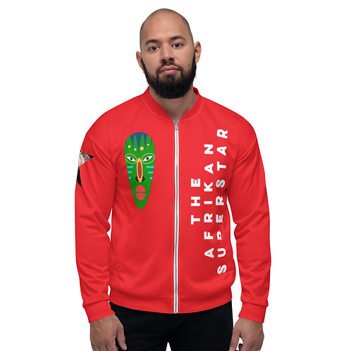 Red Jade Unisex Bomber Jacket