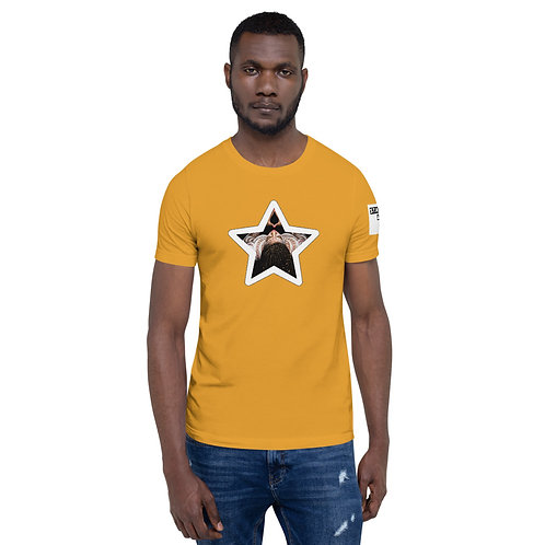 Logo Afrikan Superstar Short-Sleeve Unisex T-Shirt