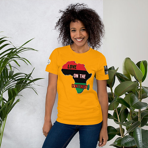 Love on the Continent Short-Sleeve Unisex T-Shirt
