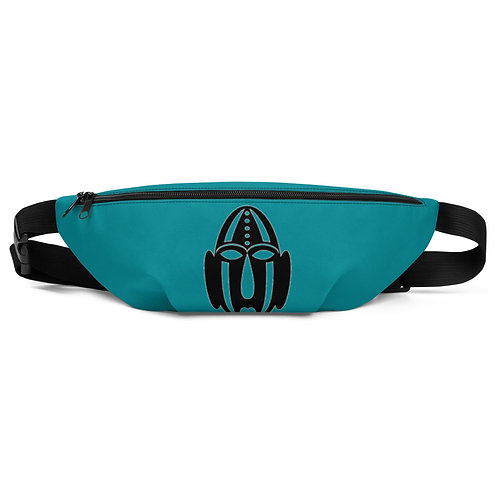 Turquoise Mask Fanny Pack