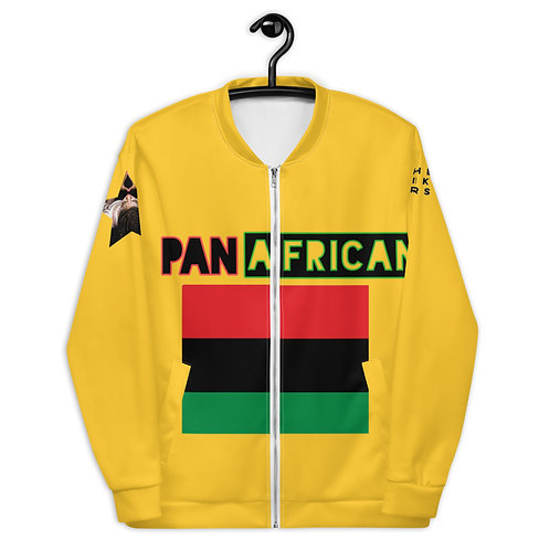 Yellow Proud Pan African Unisex Bomber Jacket