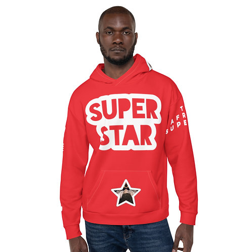 Red Quad Superstar Pan African Unisex Hoodie