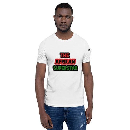 Pan African Afrikan Superstar Short-Sleeve Unisex T-Shirt