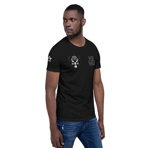 "Mask ""Black Love or Stay Single"" Short-Sleeve Unisex T-Shirt"