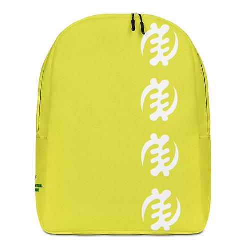 Green Gye Nyame Minimalist Backpack
