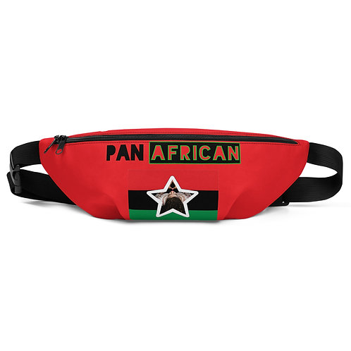 Red Proud Pan African Fanny Pack