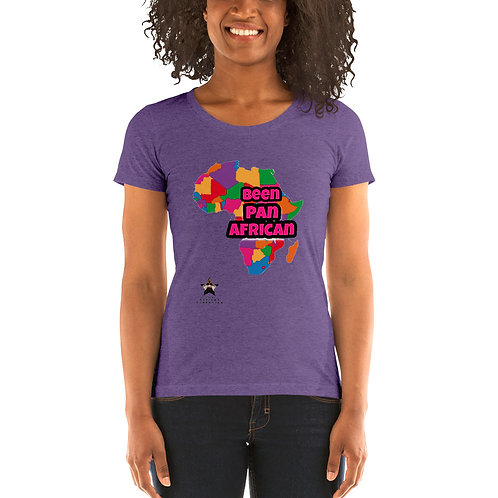 'Been Pan African' short sleeve t-shirt
