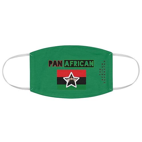 Green Proud Pan African Fabric Face Mask