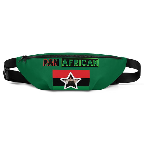 Green Proud Pan African Fanny Pack