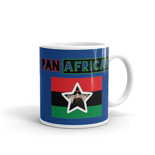 Blue Proud Pan African Mug