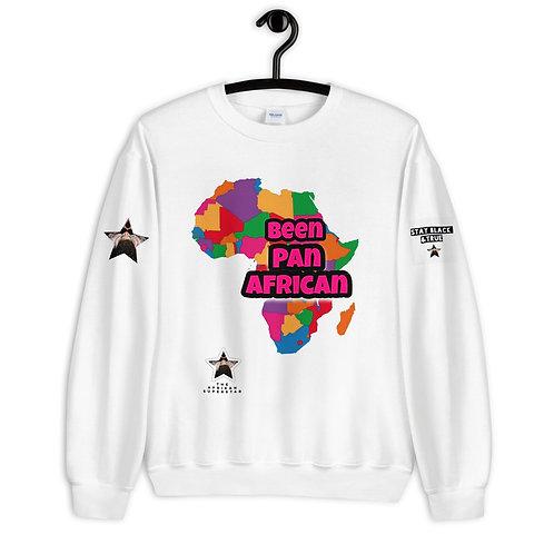 """""""Been Pan African"""" Unisex Sweatshirt"""