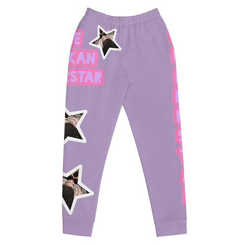 "Lavender ""Superstar"" Women's Joggers"