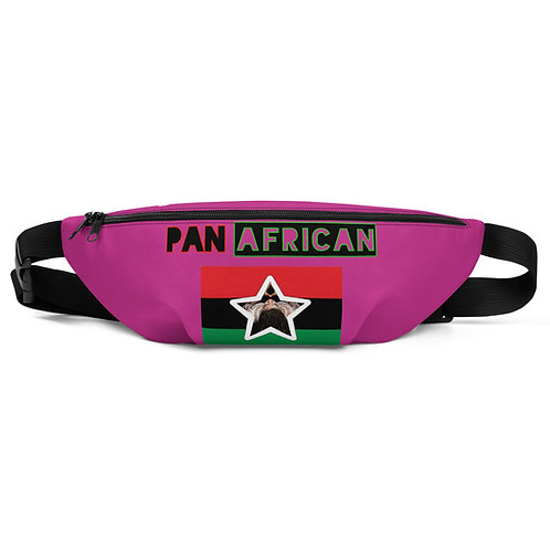 Pink Proud Pan African Fanny Pack