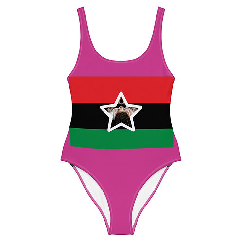 Pink Pan African One-Piece Swimsuit