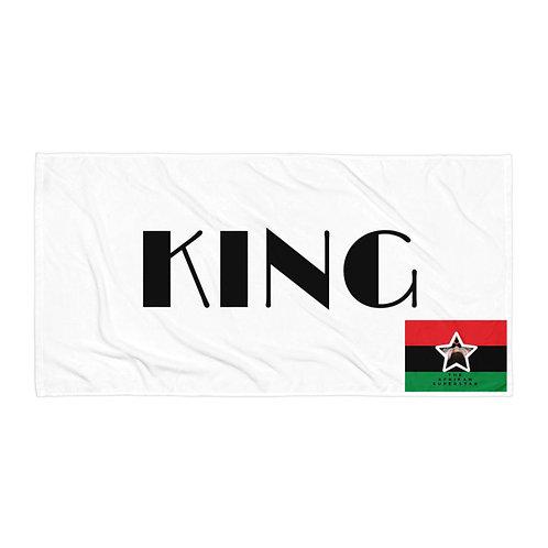 White Pan African King Towel
