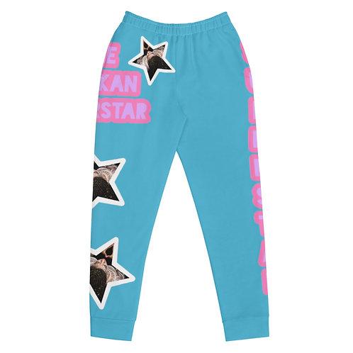Blue Superstar Women's Joggers