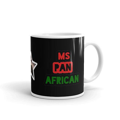 Black Ms. Pan African Mug