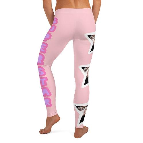 "Pink ""Superstar"" Leggings"