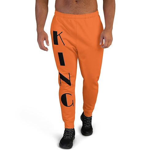 "Orange ""King"" Men's Joggers"