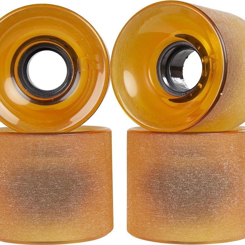 Longboard Wheels GLOBE Bantam Amber