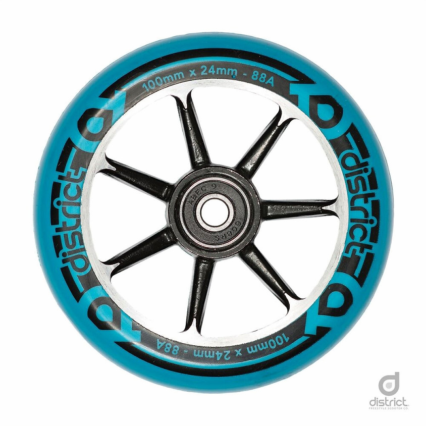 Wheels District 110 Blue/Black
