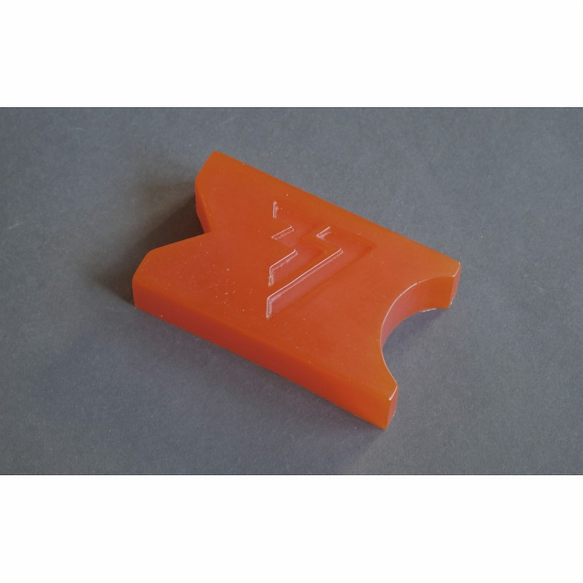 AK37 Wax Square Coupe Spéciale Orange