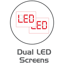 Icon for Cassida bill counter dual LED screens.