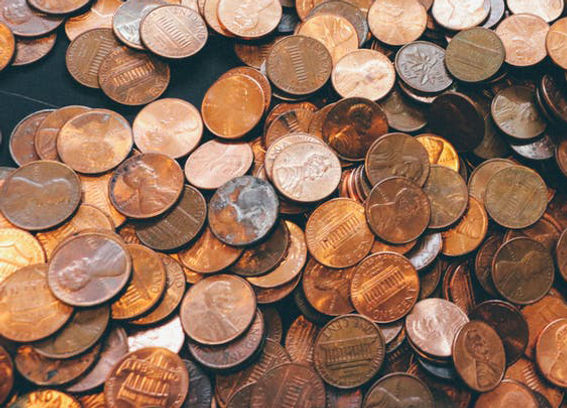 Cassida coin counters have a high maximum speed to count piles of change.