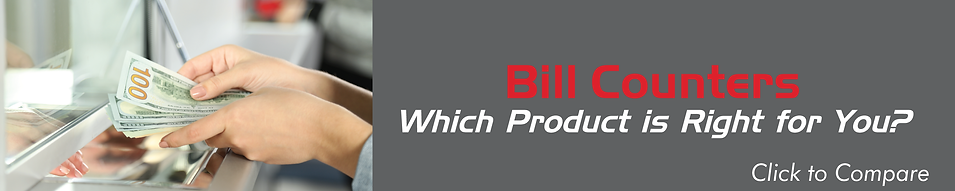 Find out which Cassida bill counter product is right for your business.