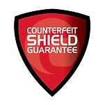Cassida Counterfeit Shield Guarantee protects your business.
