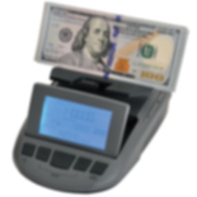 Cassida TillTally can count dollar bills in addition to coins, counting by weight.
