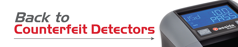 Return to Cassida Couterfeit Detector product page.