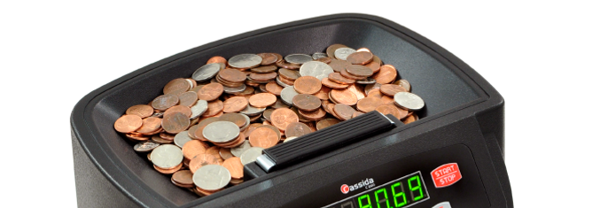 Cassia coin counter hopper capacity- the amount of coins to be counted it can hold.