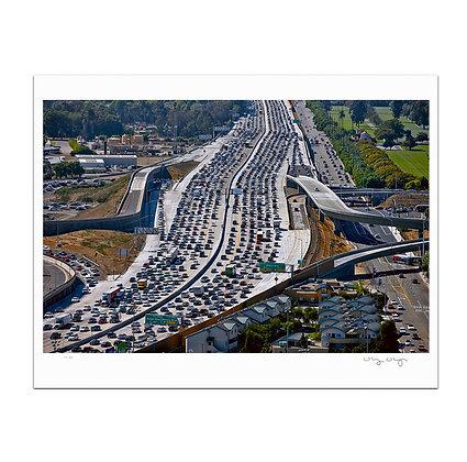 405 Traffic Print