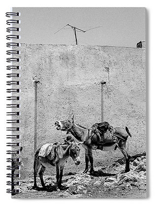 High Noon In Pozos De Mineral Notebook