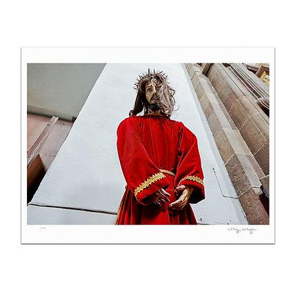 Dissheveled Jesus Print