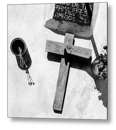 Country Grave Metal Print