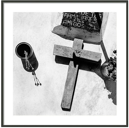 Country Grave Framed