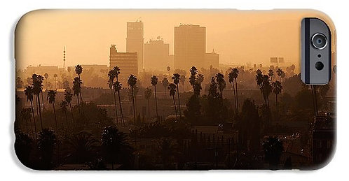 Late Afternoon Over Hollywood phone case