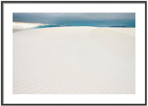 Dunes At White Sands Framed