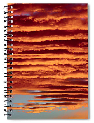 Stacked Sky Notebook